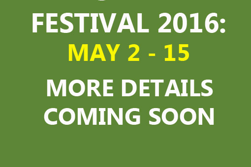 Festival 2016 on the way!